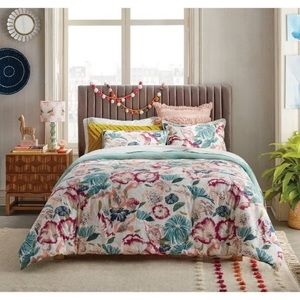 NEW Opalhouse Floral Comforter Set Full/Queen
